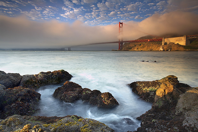 Foghorns at the Golden Gate