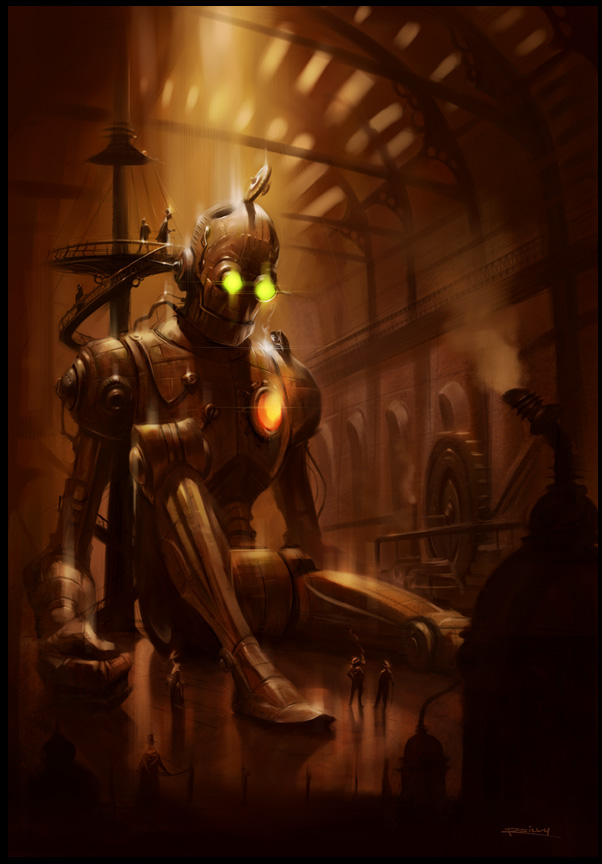 Steampunk artwork