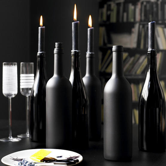 Won't You Be My Nabor: Ways To Use Those Empty Wine Bottles