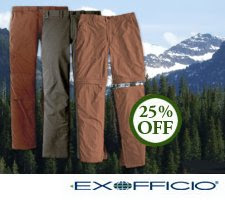 Click to view ExOfficio clothing at Powder Horn Outfitters