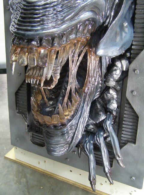The Midas Touch A K A 3dwizart Alien Queen Wall Art By
