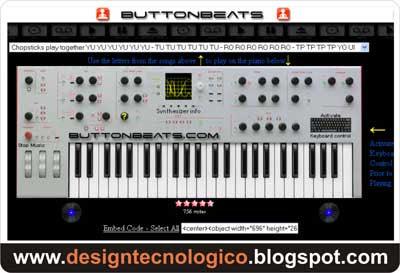 tocar teclado online