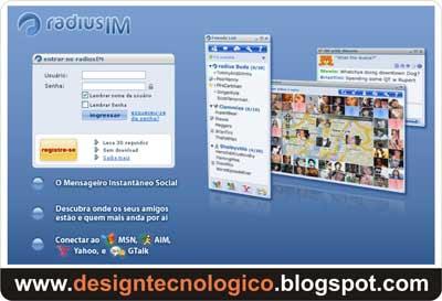 Messenger Online localização geográfica