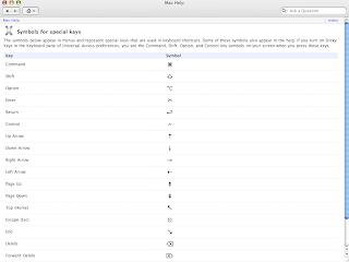 tech answer guy: MacBook Pro keyboard shortcuts and symbol chart