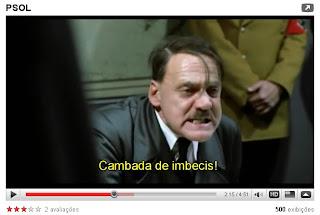 filme REUNIÃO DE CÚPULA DO PSOL