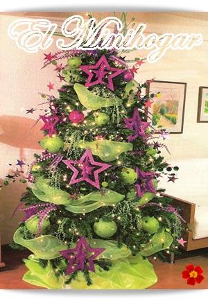 El minihogar - Como se decora un arbol de navidad ...