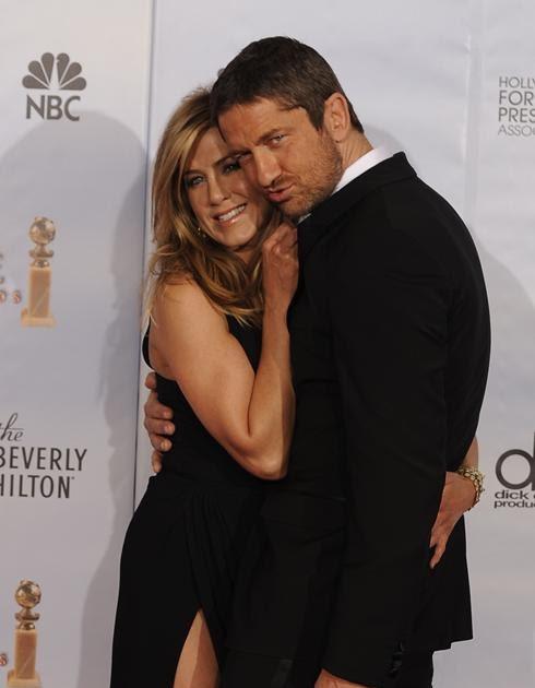 Jennifer Aniston and Gerard Butler On (Again)