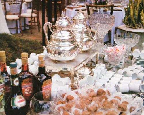 Mesas de caf e licor ou barescaf  um gran finale