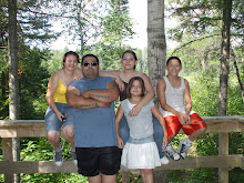 MY KIDS AND I ON THE GUNFLINT TRAIL