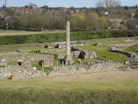 Roman ruins in St. Albans England