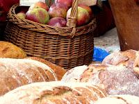 汉普斯特德盖尔花园聚会上盖尔的面包和苹果
