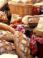 伦敦汉普斯特德盖尔面包店的新鲜面包