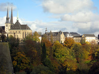 Skyline in Luxembourg