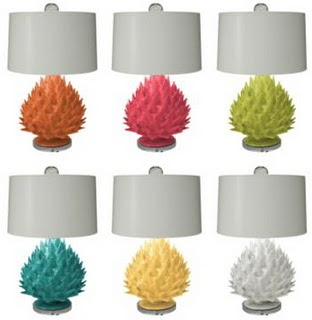 Blue Artichoke Interiors: Artichoke Lighting Options