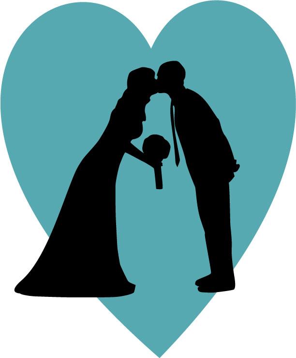 Making Your Own Wedding Silhouette - Radmegan