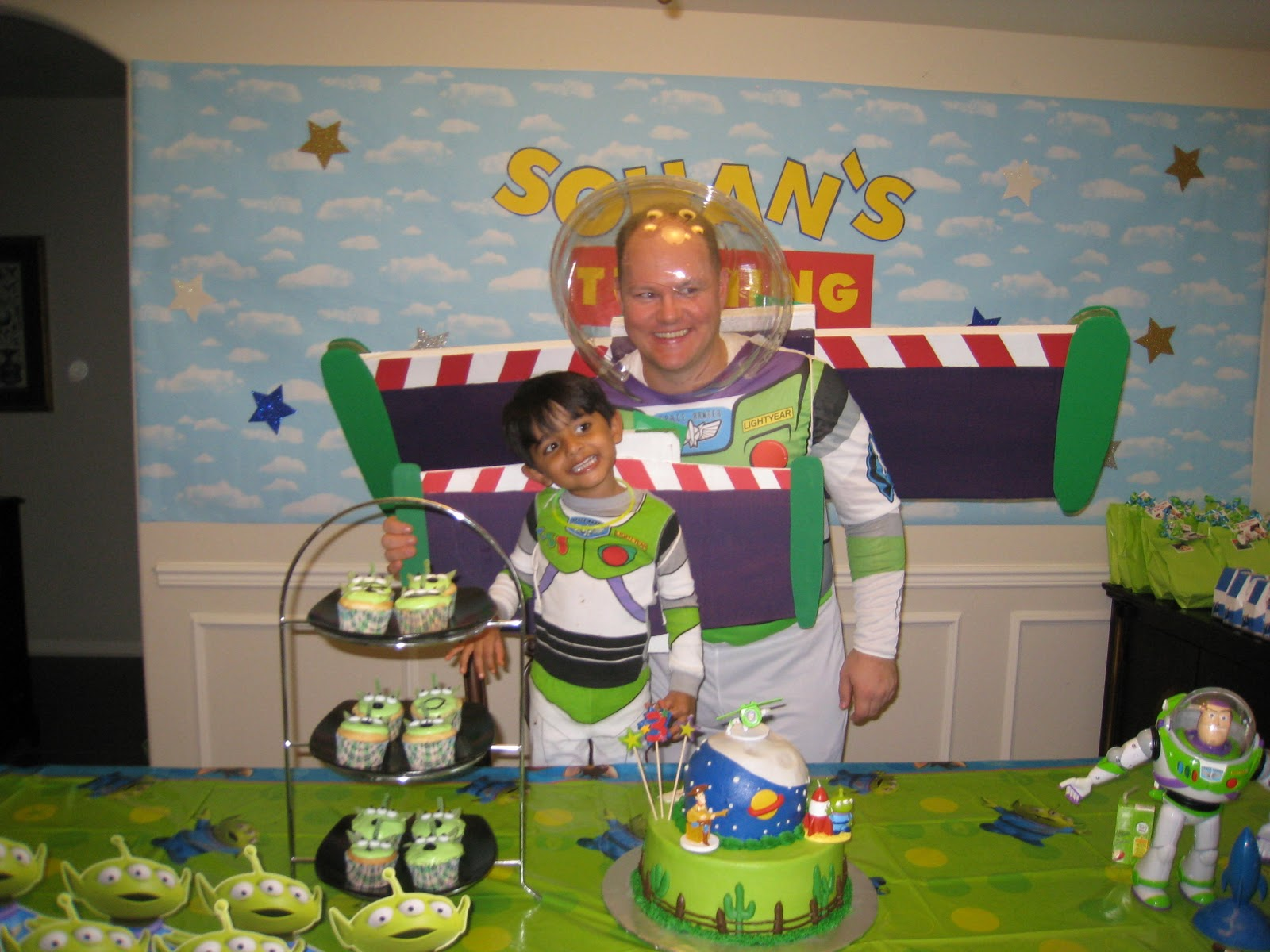 The Party Wall Toy Story Party