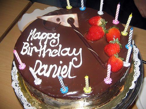 Happy Birthday Daniel Cake Images