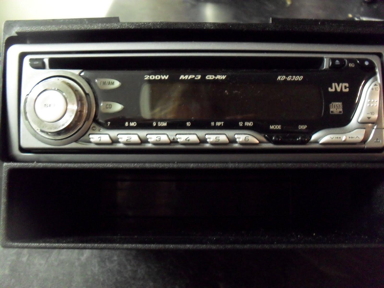 Virtual Garage Sale: JVC KD-G300 In-dash Car Stereo MP3/CD