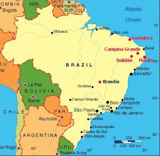 brasil kart På kryss og tvers over hele verden: Kart, riksvåpen og flagg fra  brasil kart