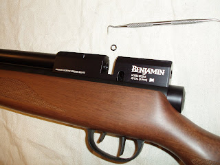 Another Airgun Blog: Benjamin Marauder Baffle Modification