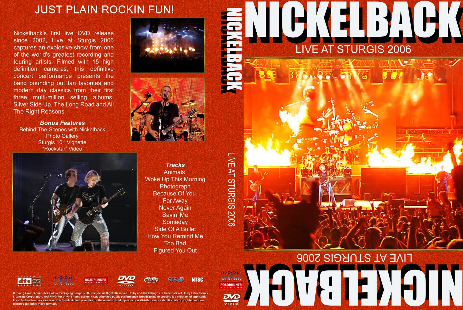 show do nickelback live at sturgis