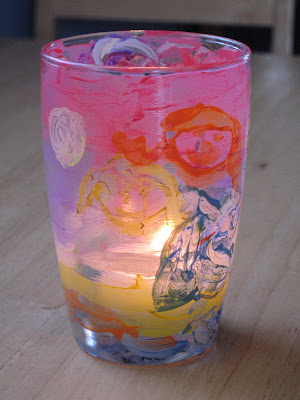 Be Brave Keep Going Kid Craft Make A Votive Candle