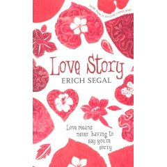 The demonstration of love and emotions in erich segals novel love story