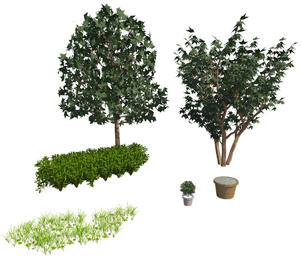 Revit Trees - Year of Clean Water