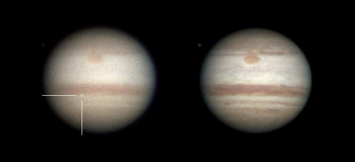The Gish Bar Times: Follow-up on Friday's Impact on Jupiter