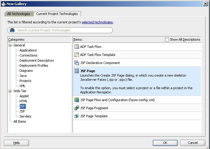Zeeshan Baig's Blog: Creating Pages with Regions in Oracle ADF