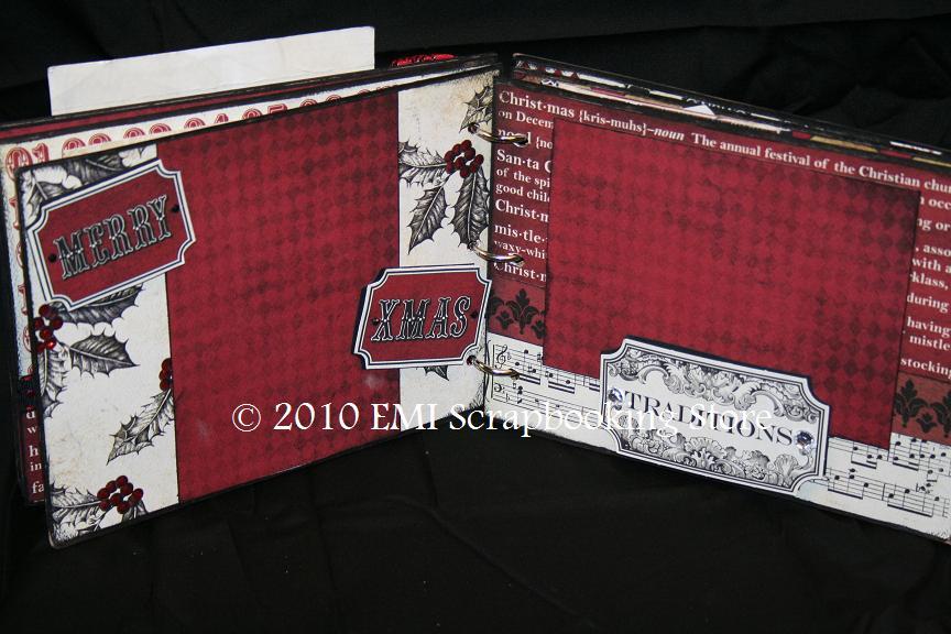 EMI Scrapbooking Store: More Christmas Mini Album Kits