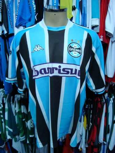 Brechó do Futebol. Bar   Camisetas.  Grêmio 2002 Camisa Titular ... b4614ae2c65e7