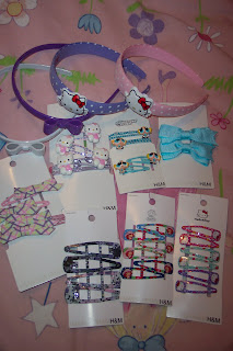 h&m hair accessories loot