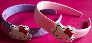 h&m hello kitty hairbands
