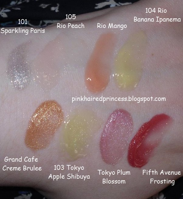 Pink Haired Princess: Review & Swatches: Lancome Juicy Tubes