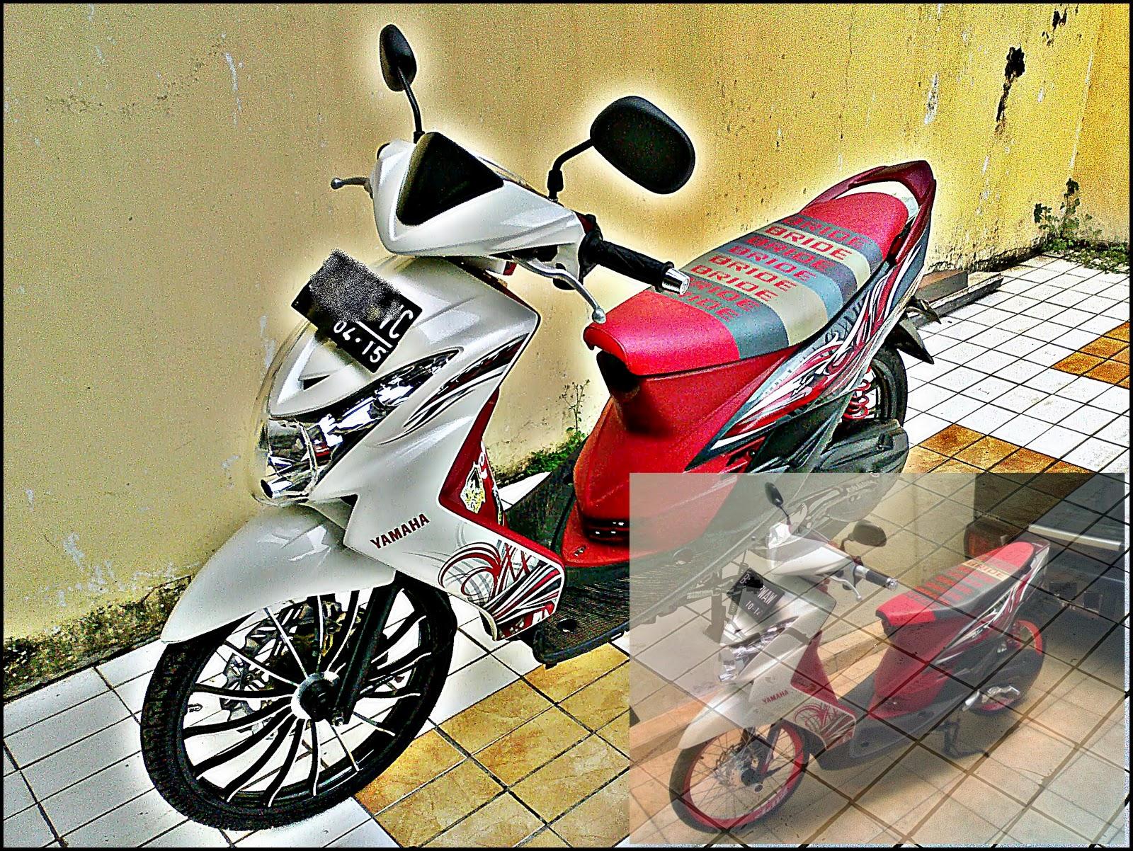 Modif Yamaha Mio Soul Xeon Low Rider Taste Modifikasi Motor Ajilbab