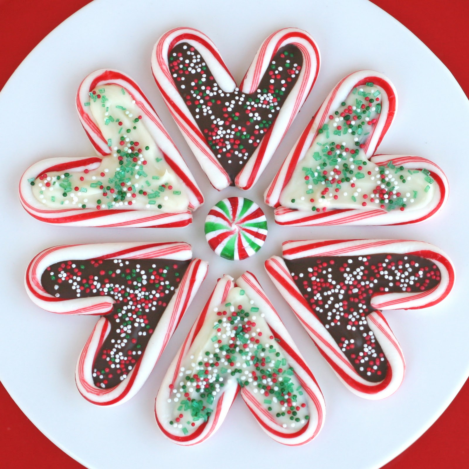 Candy Cane Hearts – Glorious Treats