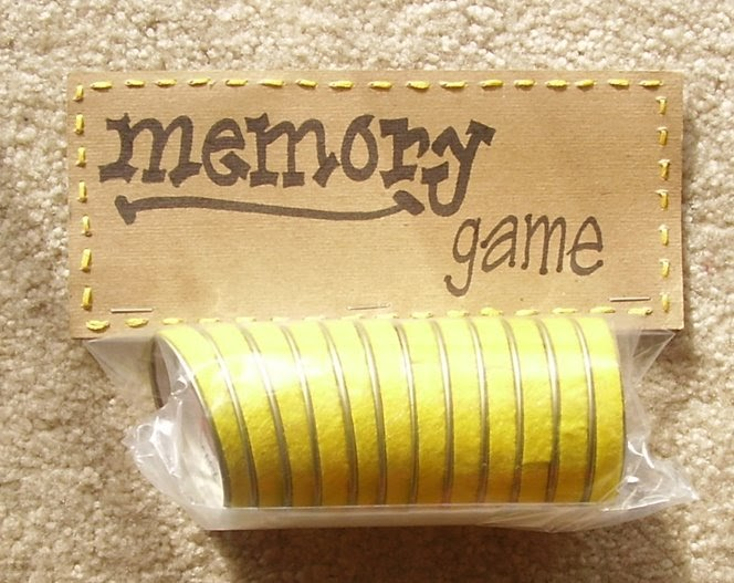 Snazzle Craft Memory Game