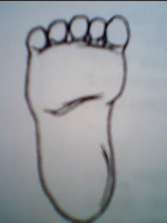 Gambar Mewarnai Kaki : gambar, mewarnai, Gambar, Jayarana, Bentuklah, Telapak, Berdasakan, Sketsa, Rebanas