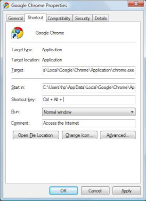 how to close browser shortcut keyboard