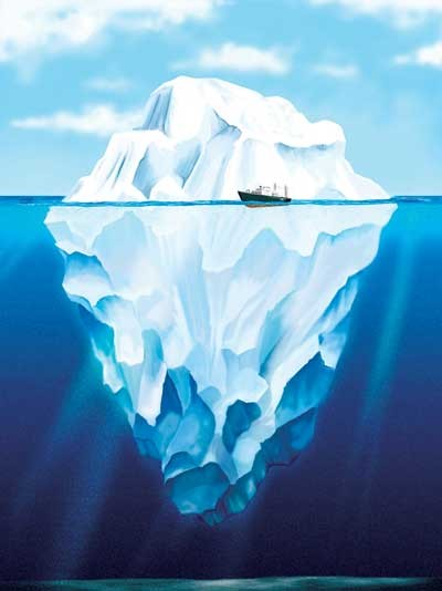 iceberg metaphor