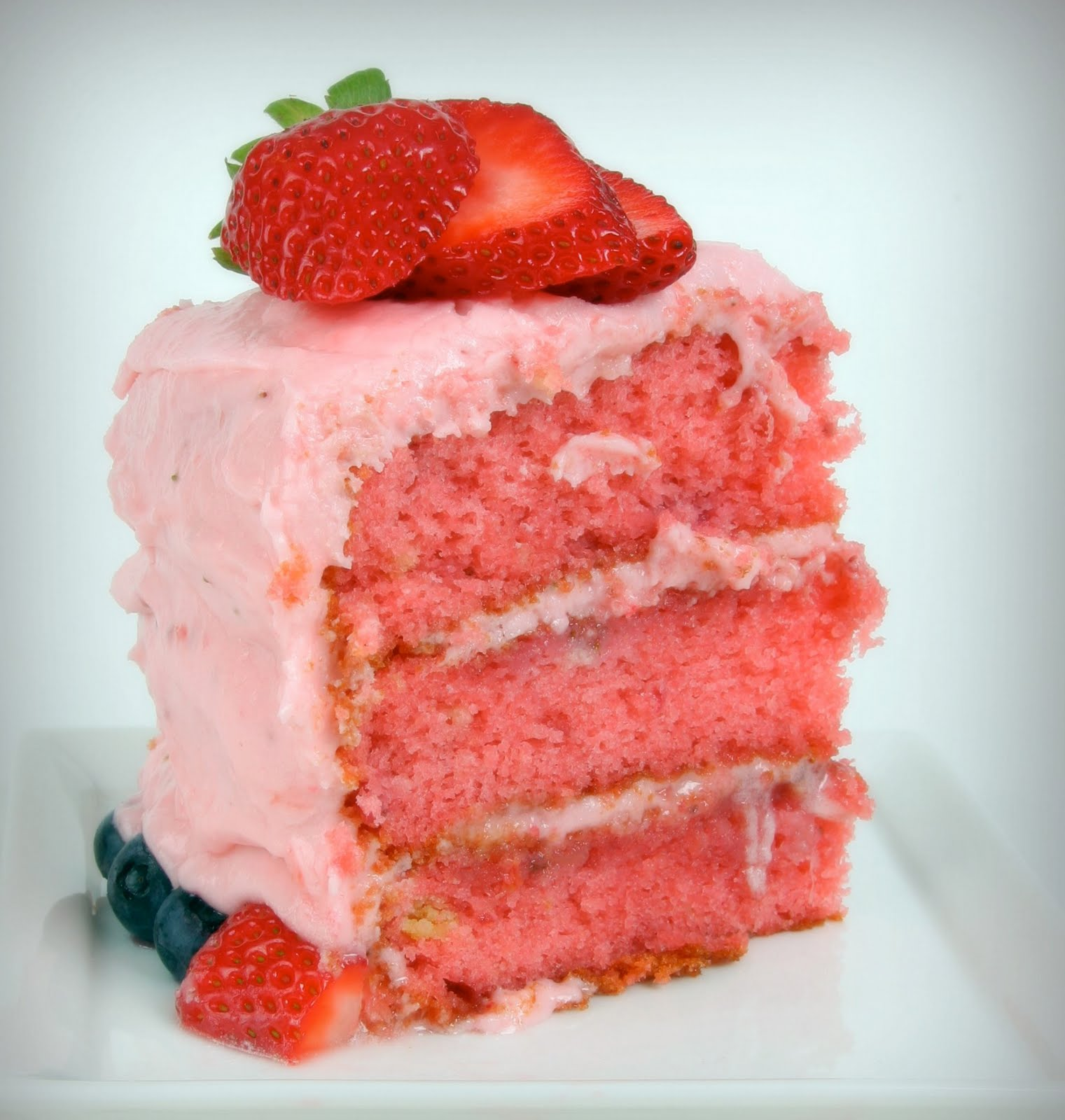 Best Cake For Strawberry Frosting