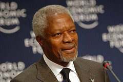 kofi annan world economic forum flickr