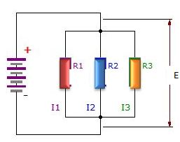 resistors in parallel diagram