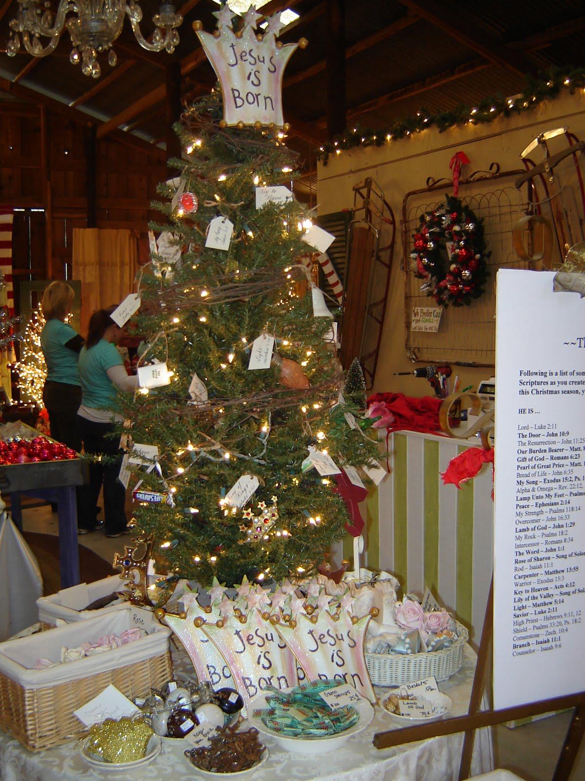 Gresham Barn Sale: The JESUS Tree