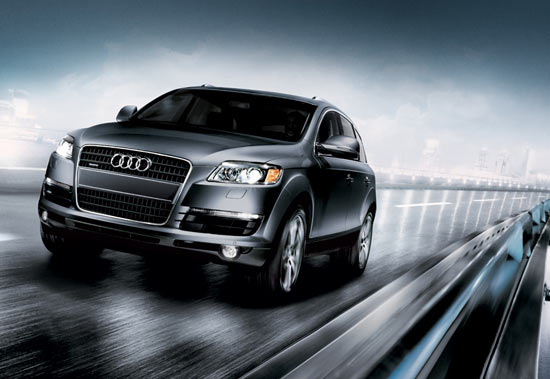 Audi Q7 Suv Car Wallpaper