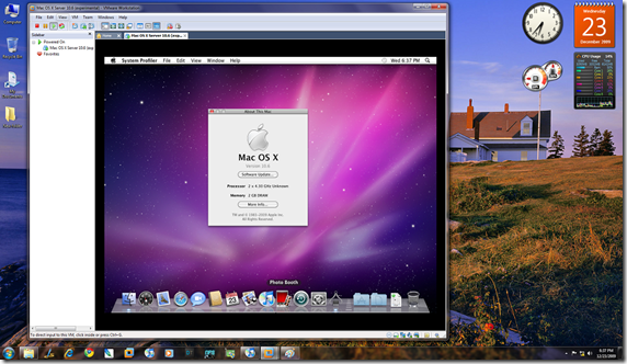 Install Mac OS X Snow Leopard in VMWARE Windows 7 Edition   Brought