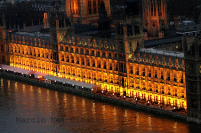 PARLAMENTO DE LONDRES VISTO DA LONDON EYE
