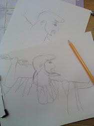 zeus pencil ink watercolor sketches mediocre come