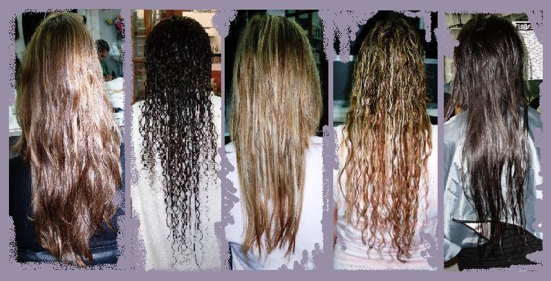 Corte de cabello tipo extensiones de espalda